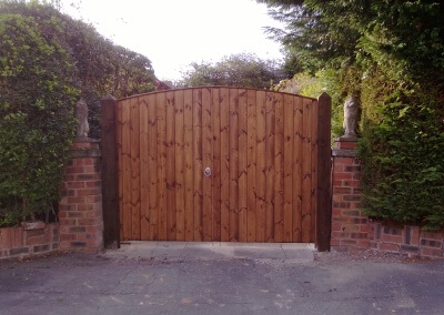 Double T&G Gates Project - Completed