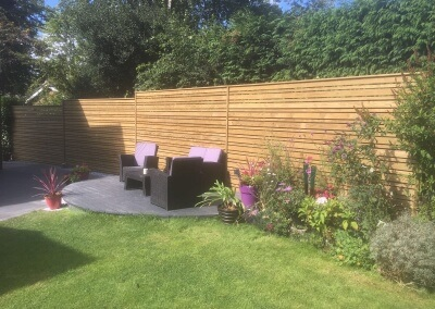 Contemporary Venetion Fencing - Completed