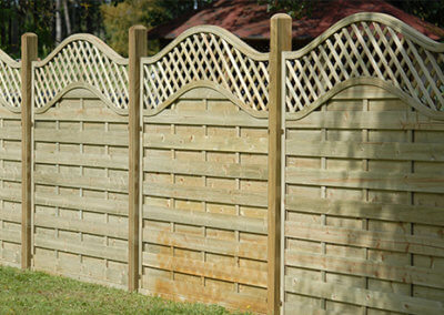 Fencing Panels Curran Fencing