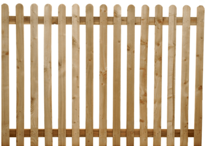 Timber Paling (Picket) Fencing
