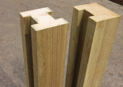 Timber Post Extenders (H Block)
