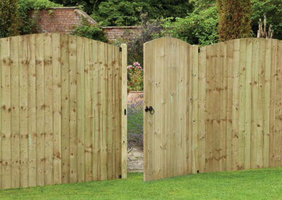 Tongue & Groove timber gate