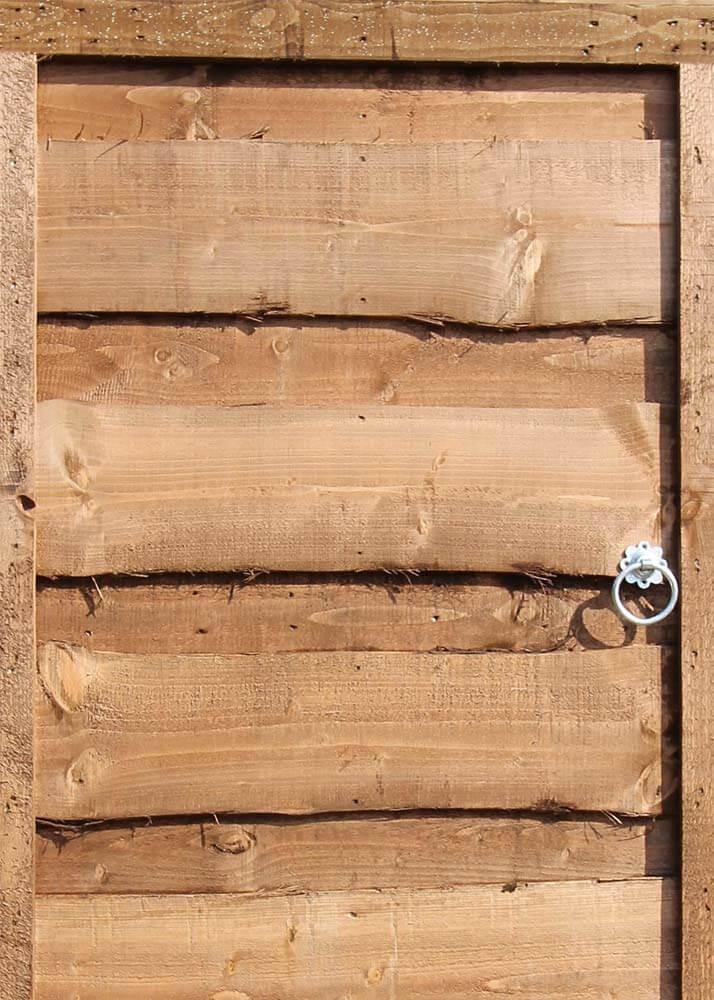 Waney lap gate